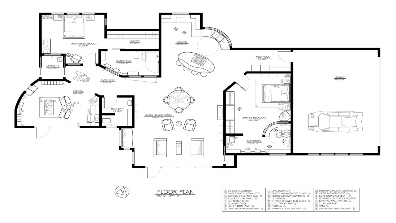 Passive solar house floor plan passive solar house diagram for Passive solar ranch house plans