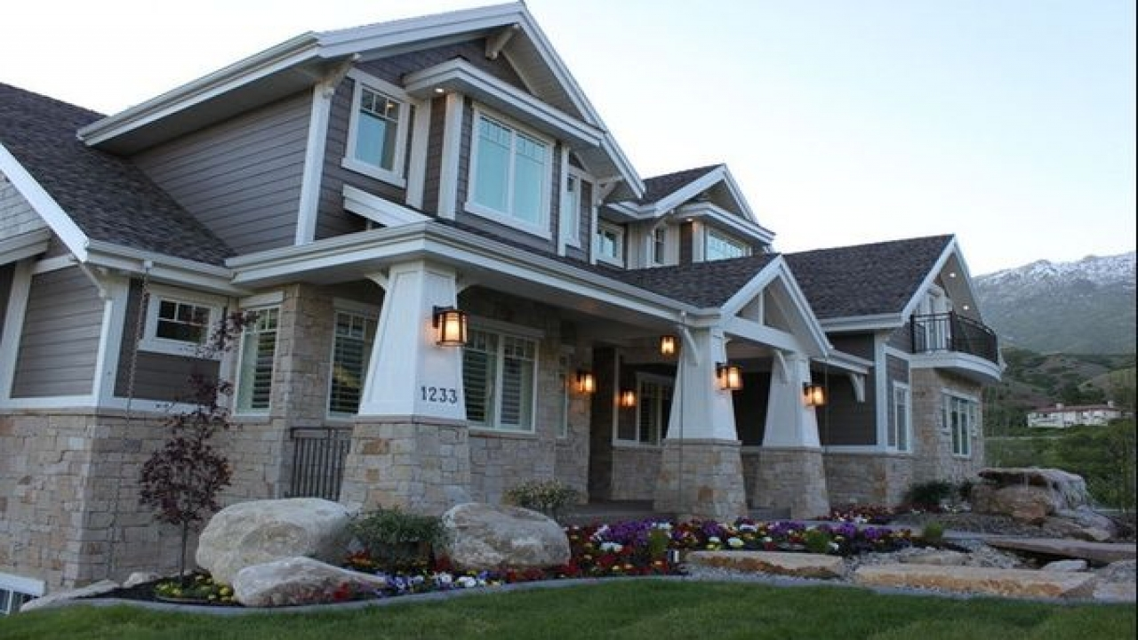 Ranch Style Homes Craftsman Modern Craftsman Style Home