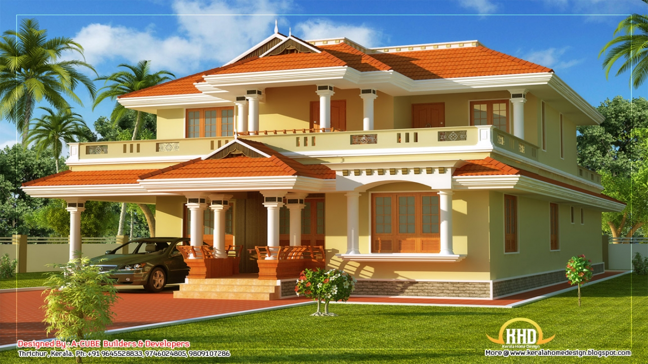 Traditional kerala house designs small house plans kerala for Small house design kerala style