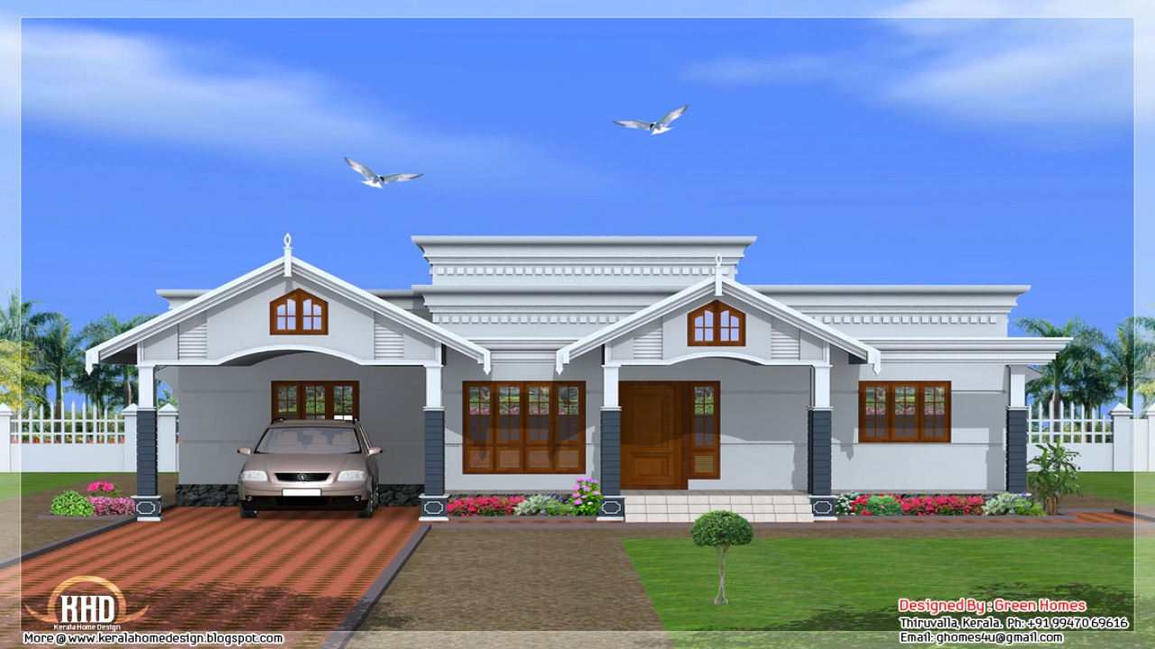 4 bedroom house plans kerala style residential house plans for Residential home design styles