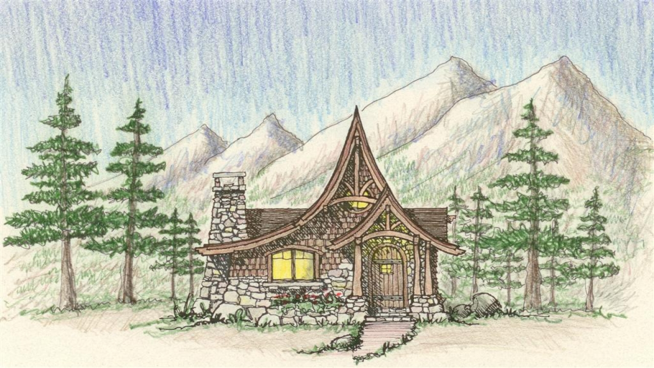 Fairy Tale Cottage House Plans Storybook Style Cottage