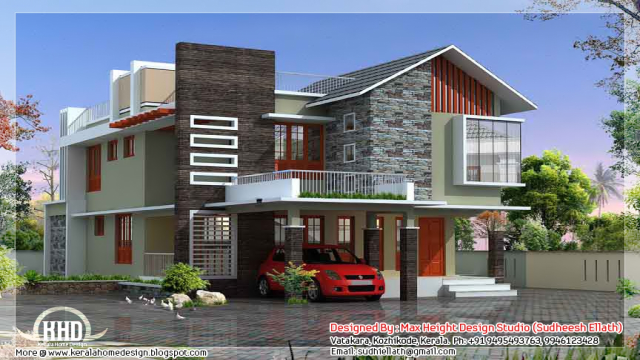 Modern ranch house plans modern contemporary house plans for Ranch home designs contemporary