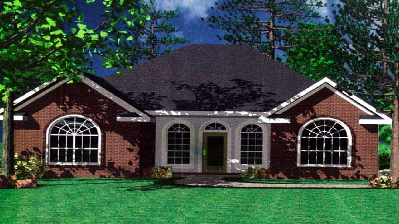 New European Style House Plans Traditional European House