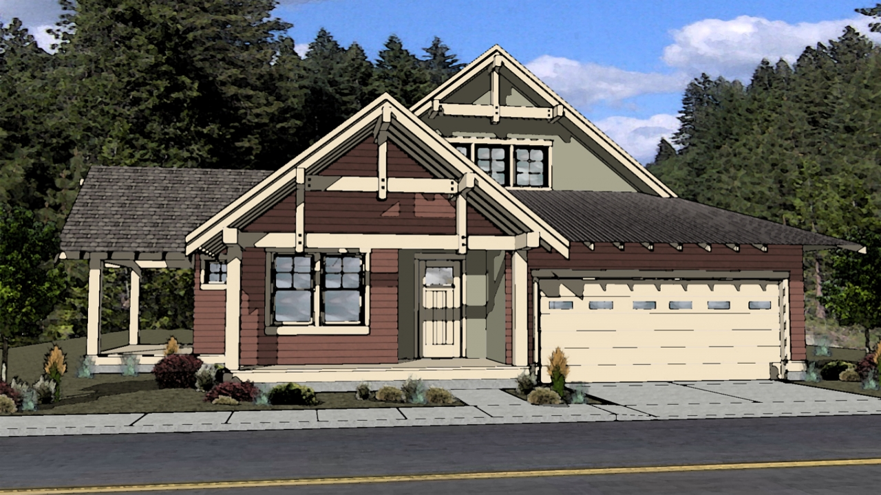 Northwest contemporary house plans northwest style house for Northwest home plans