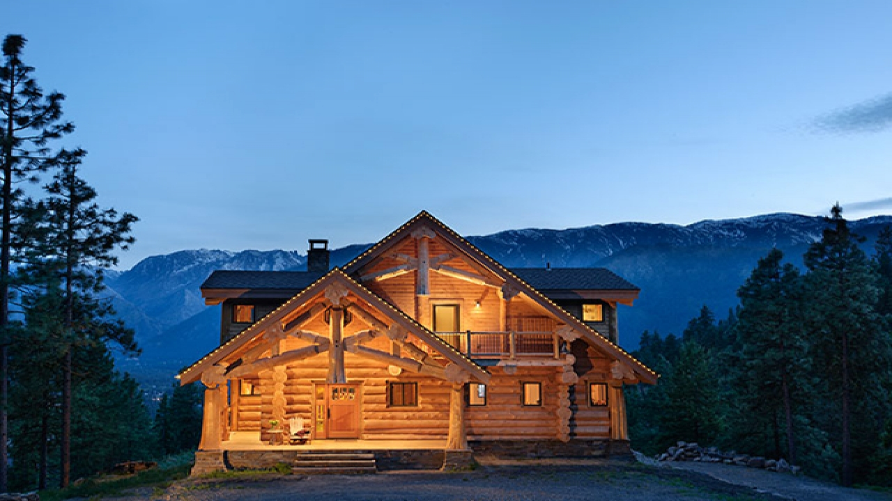 Chalet Designs Log Home Home Design, Garden & Architecture