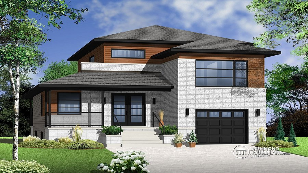 Drummond house plans designs drummond contemporary house for Drummond designs home plans
