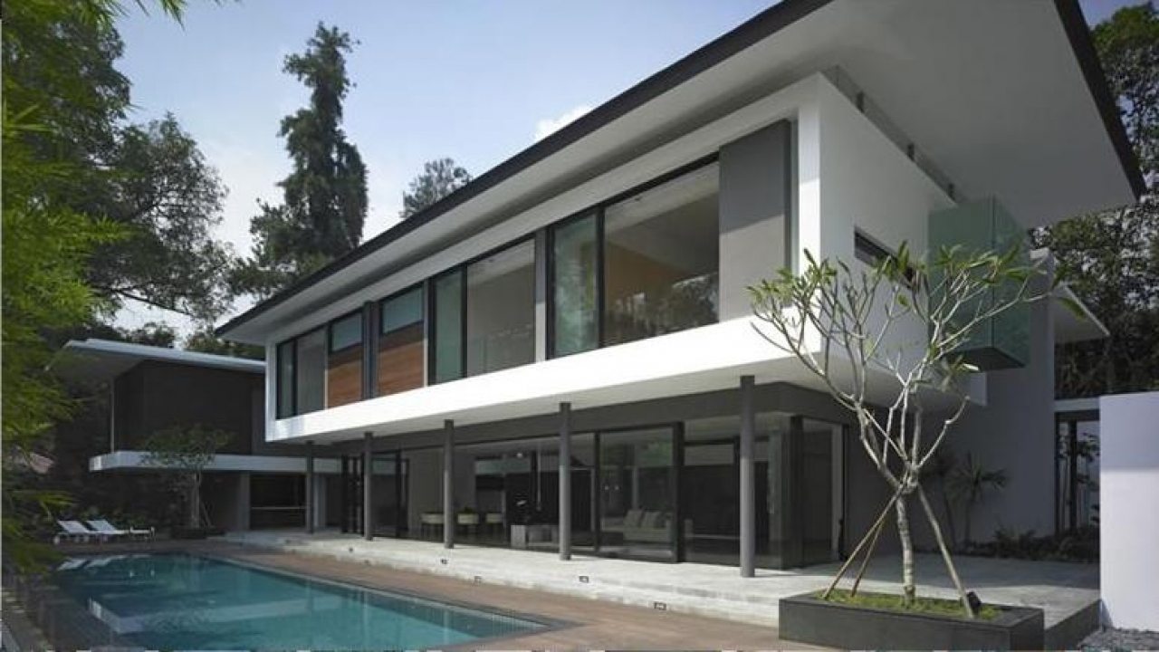 Flat Roof Modern House Designs Flat Roof Homes With