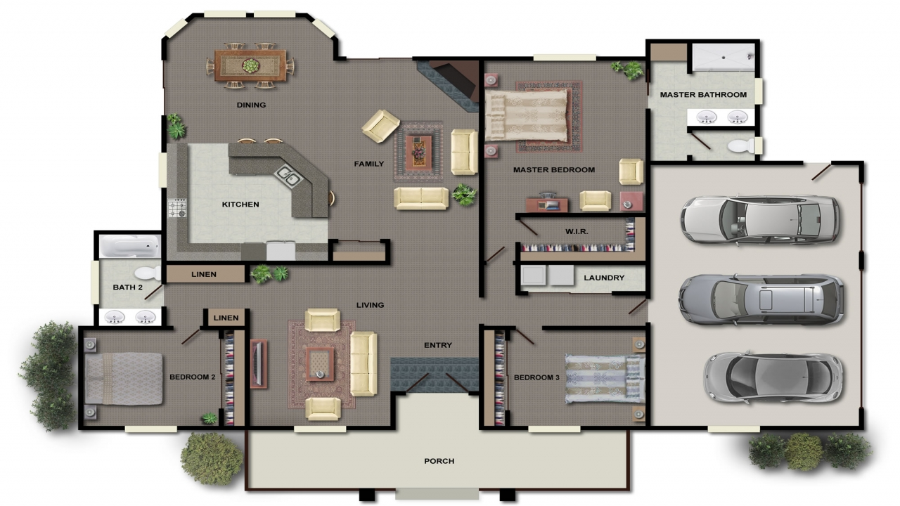 House Floor Plan Design House Floor Plans In Color Small
