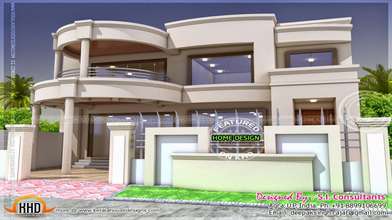 Indian house designs and floor plans indian house models Indian bungalow designs and floor plans