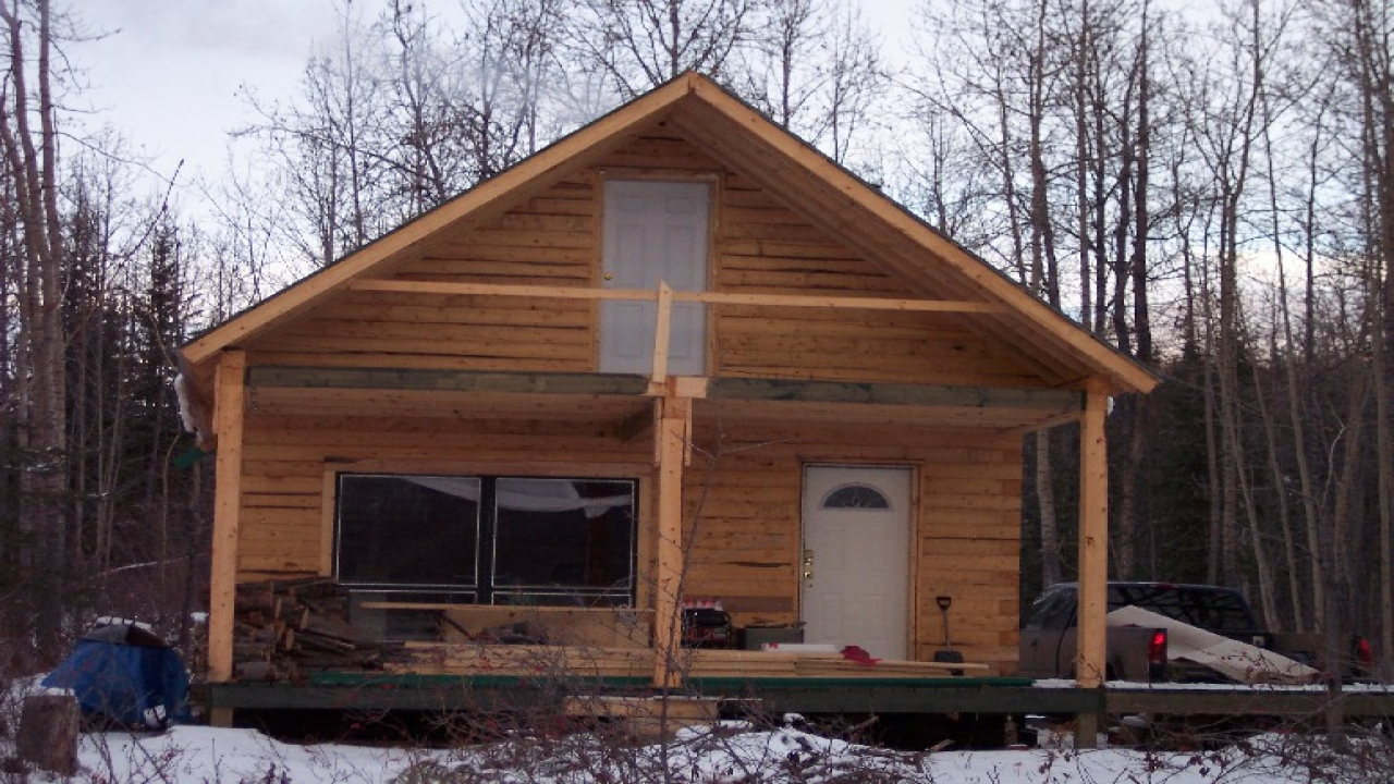 Small Cabin Building Kits Cabins Build Yourself Hunting