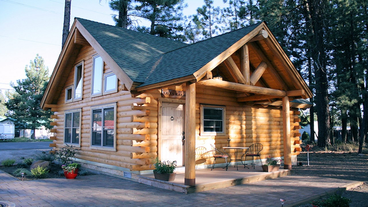 Small Log Cabins Less Cabin Style