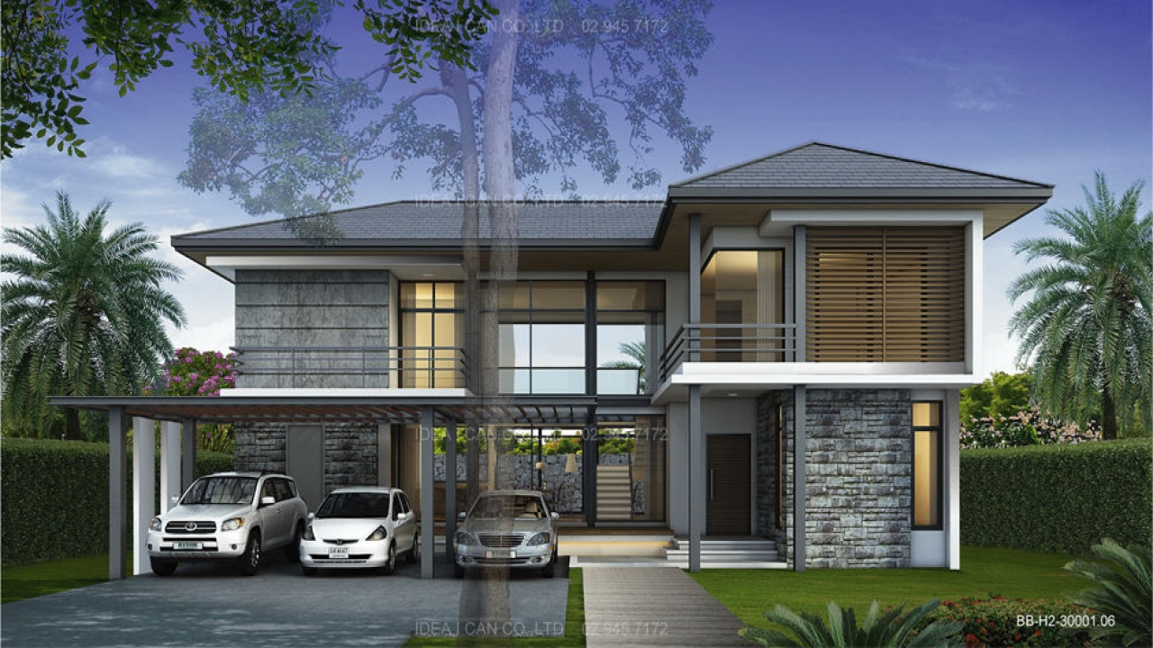 very modern house design modern tropical house design lrg 3ff3be1507f5f14b - View Small House Tropical Design PNG