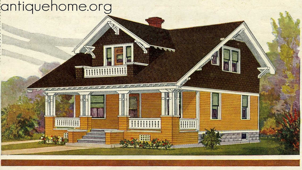 1918 Bungalow Interior 1918 Sears Kit Bungalow House Plans