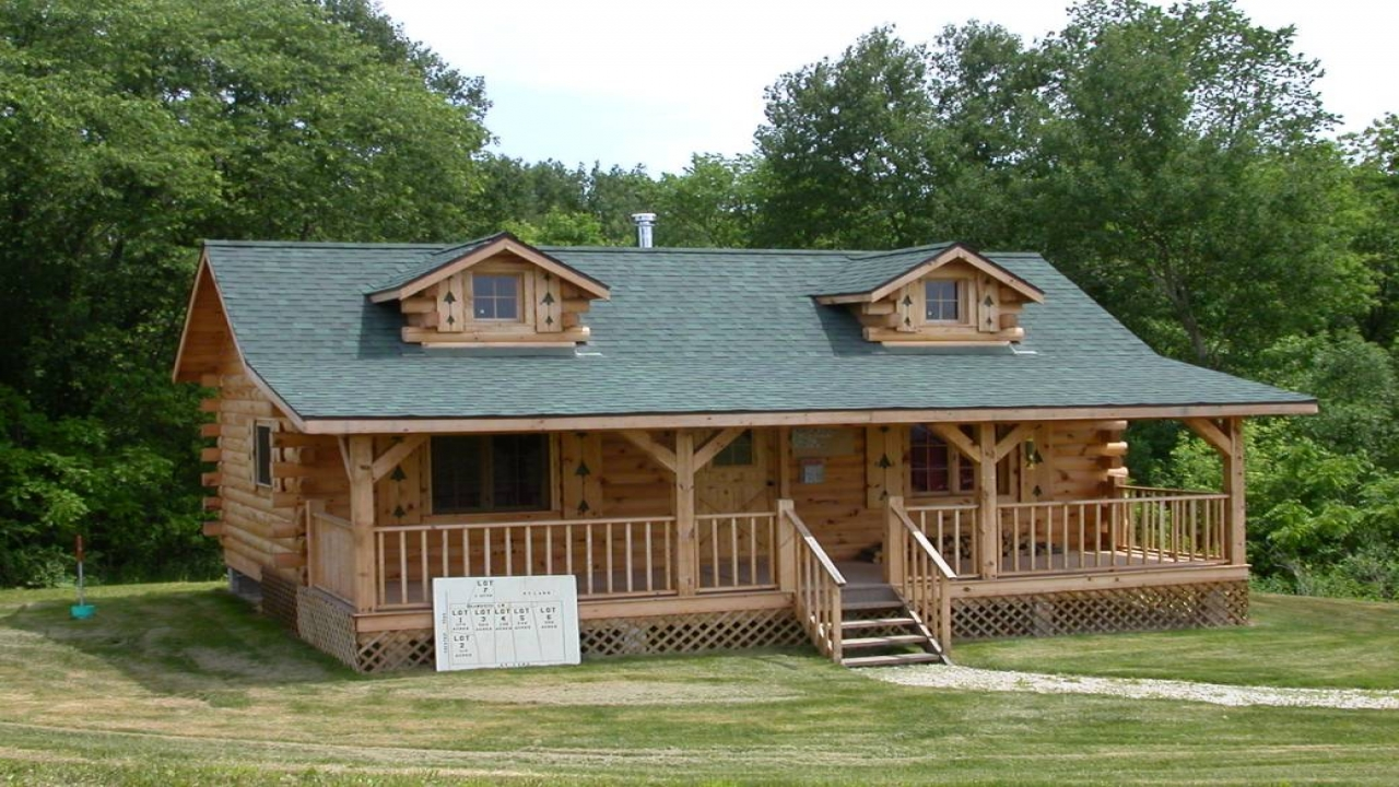 Build log cabin homes pre built log cabins simple cabins for Easy to build small cabins