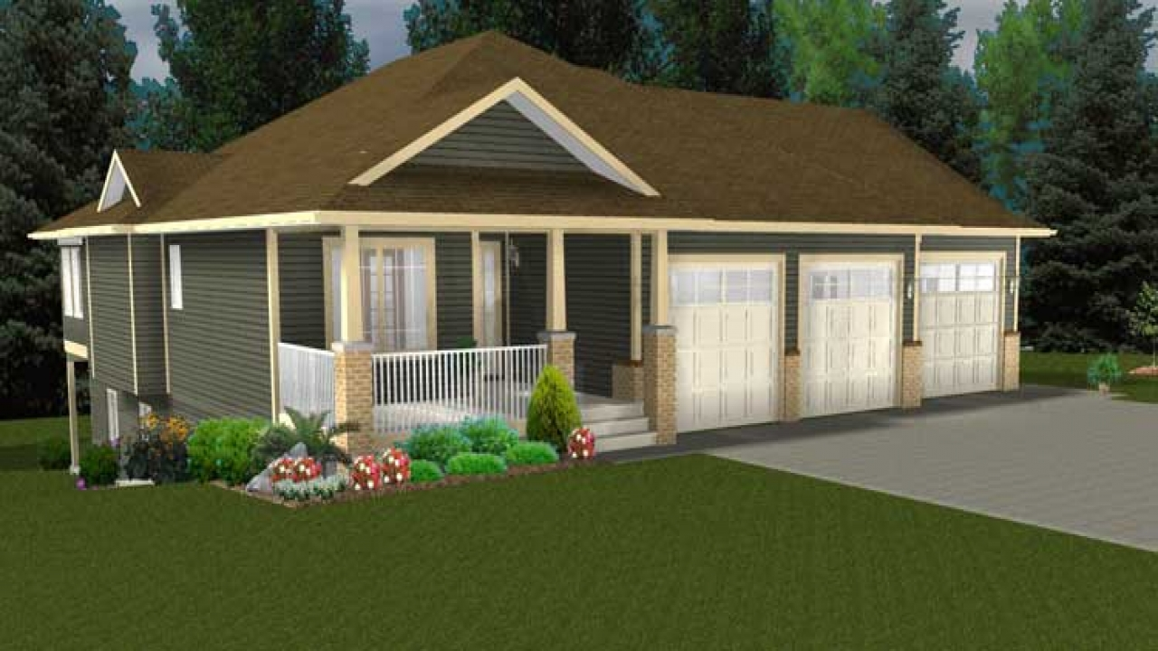 Bungalow house plans with wrap around porches bungalow for Bungalow house plans with basement and garage