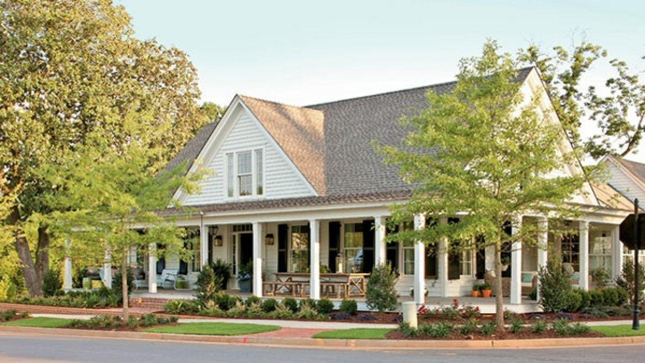 House plans southern living magazine southern living house for Simple southern house plans