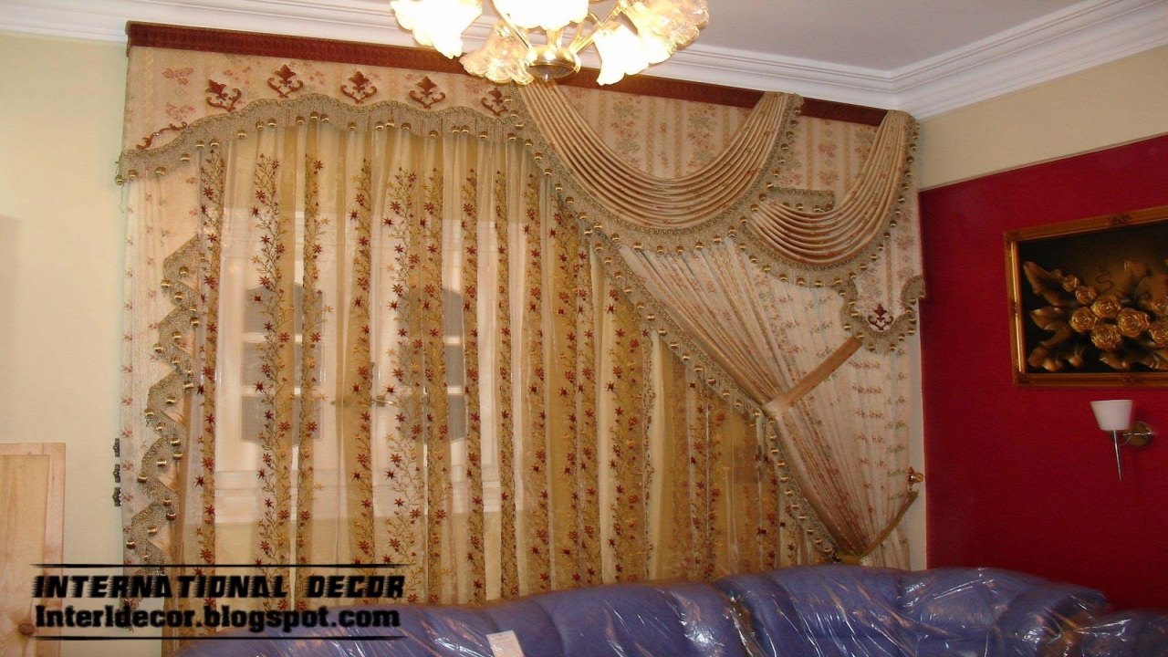 Luxury Living Room Curtain Designs Living Room Drapes And