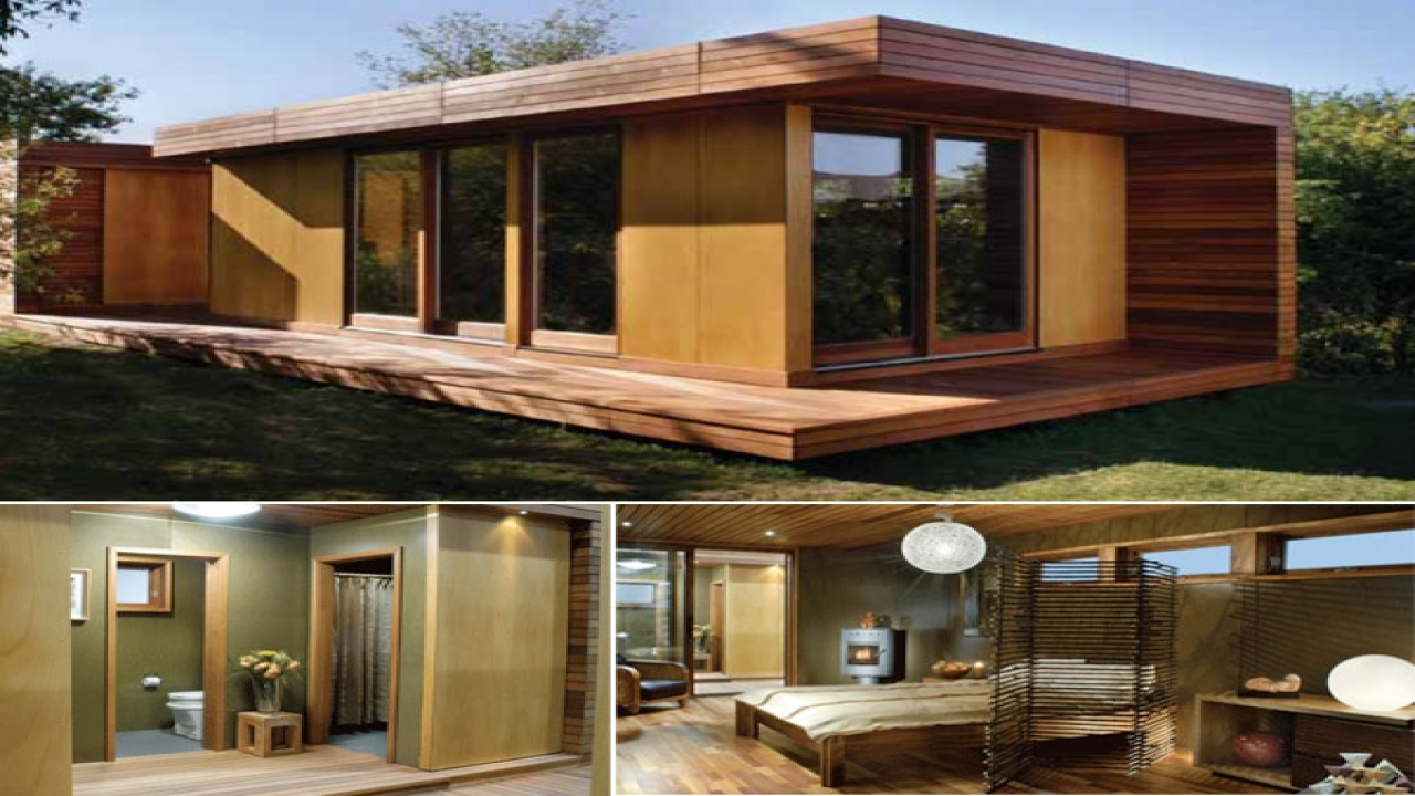 Modern tiny houses with pools tiny small modern house for Modern micro house