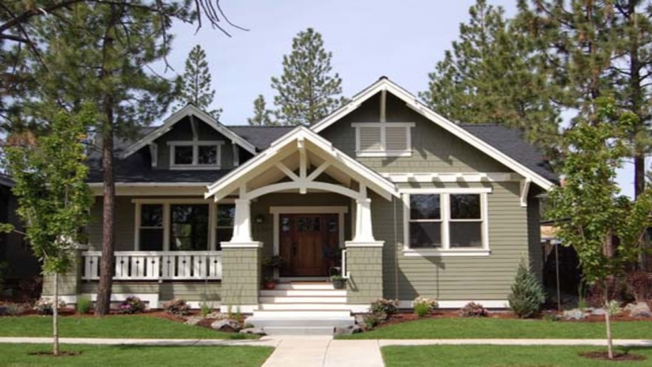 One story craftsman style home plans one story house plans - Craftsman style home plans designs ...