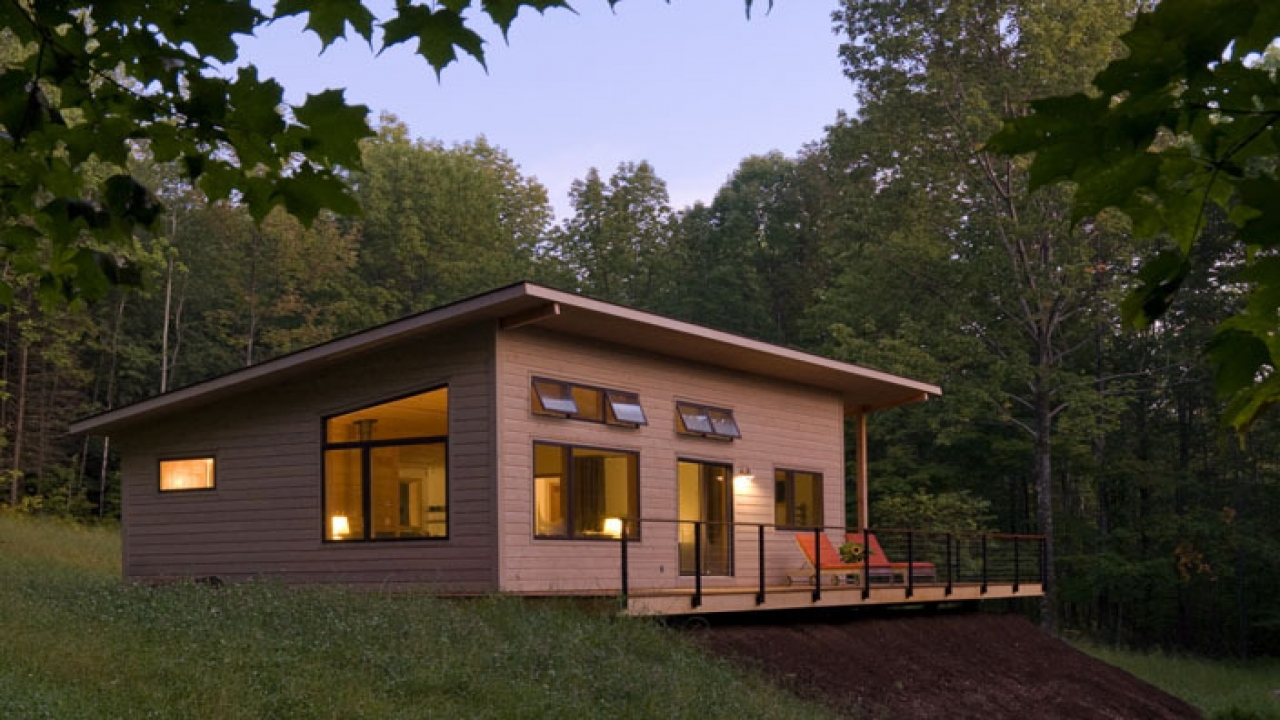 Small Modern Cabin Designs Modern Log Cabin Designs Home