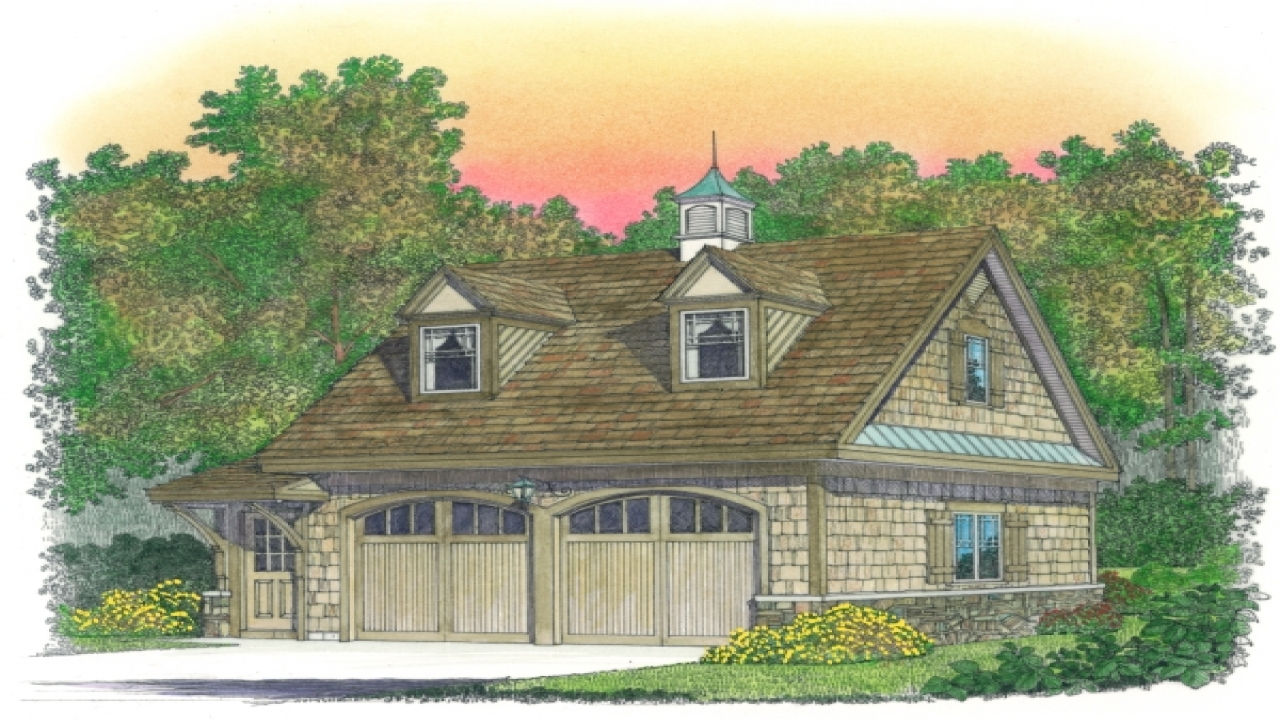 2 Car Garage With Living Quarters Cape With Attached