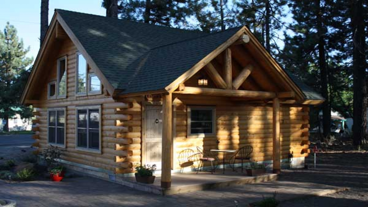 Square Foot Log Cabin Plans House Less Treesranch