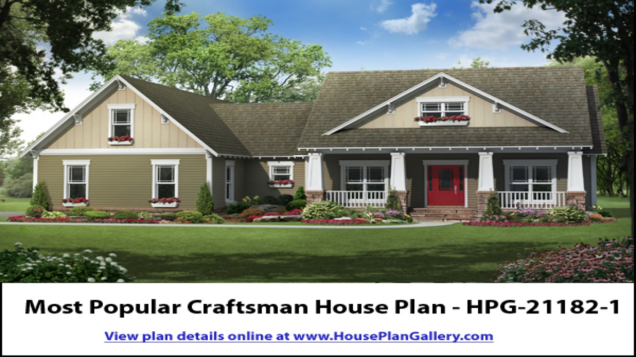 Best Craftsman House Plans Craftsman House Plans Ranch