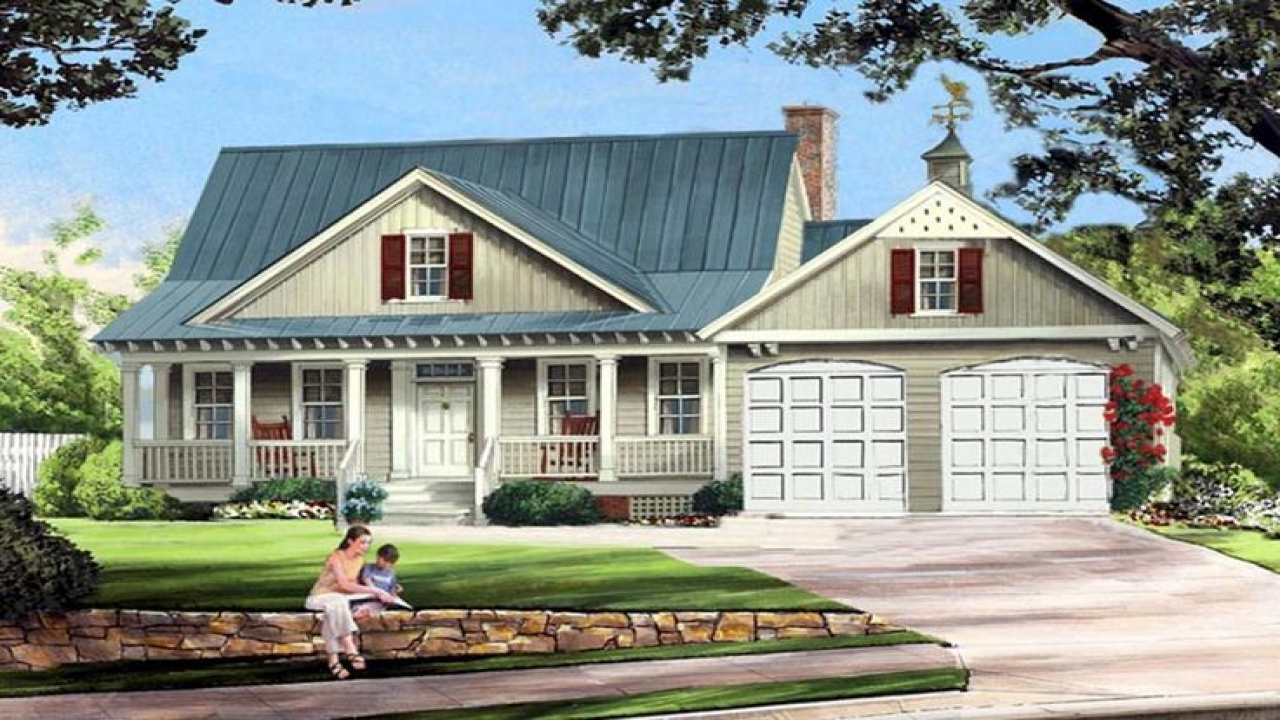 Country Farmhouse House Plans House Plans With Porches