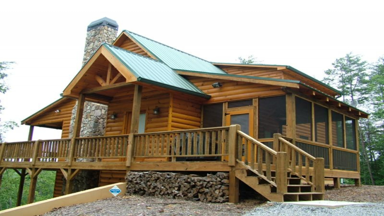 Log cabin mansion interiors mansions in the