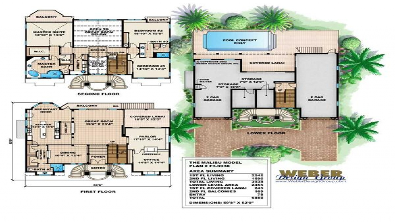 Mediterranean house floor plans small luxury mediterranean for Mediterranean home plans