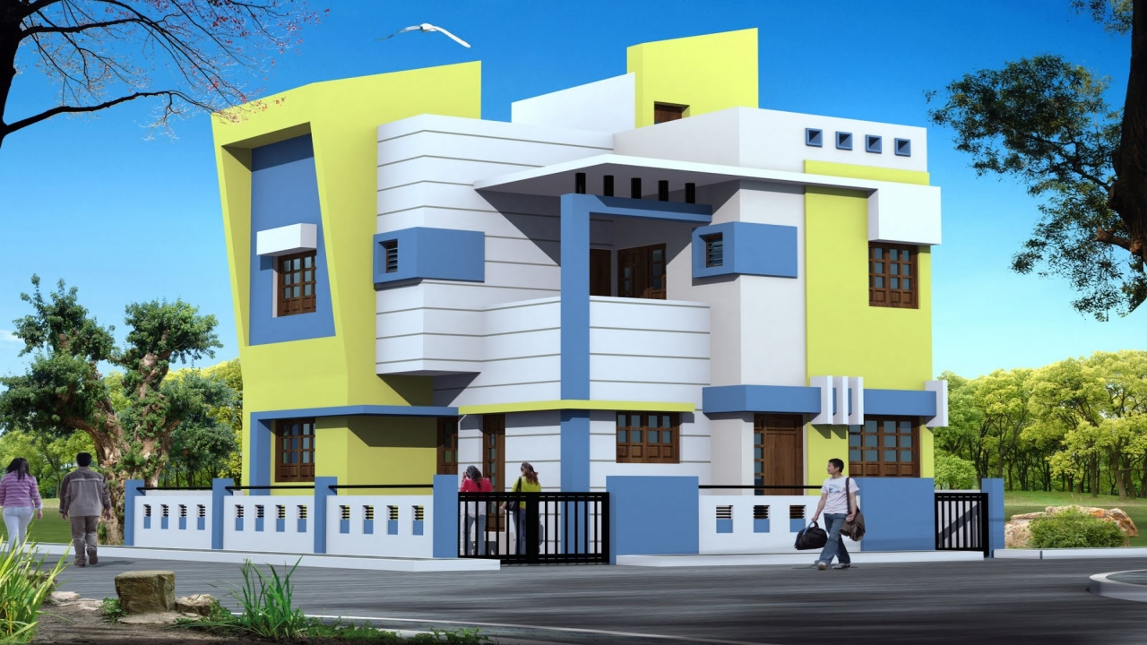 Modern bungalow exterior design single story modern for Exterior home design one story