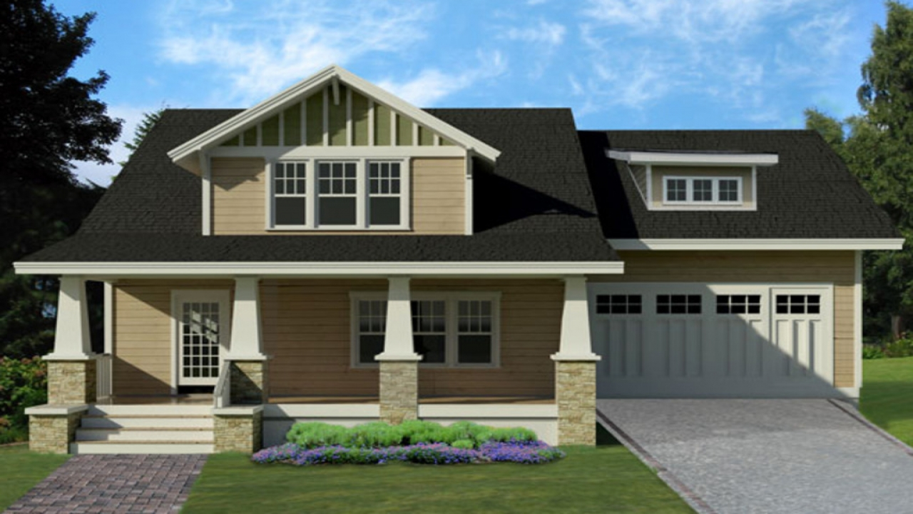 Small Two Story House Plans With Garage