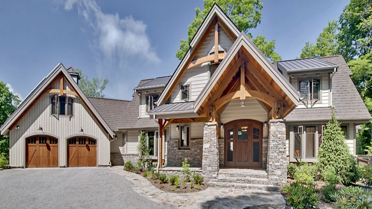 Post and beam barn homes timber frame homes timber style for Timber style homes