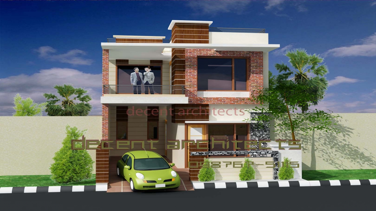 Ranch home exterior designs home design exterior small - Exterior designs of houses in india ...