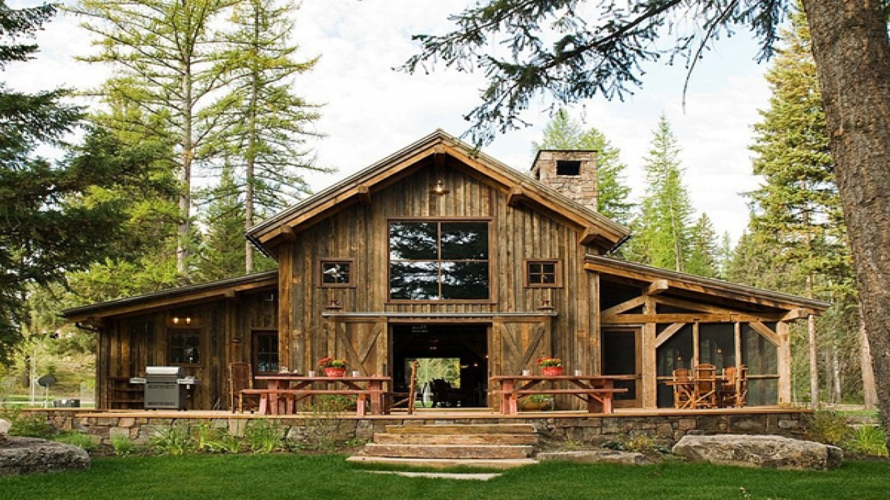 Rustic Modern Barn Home Plans Rustic Barn Home Plans ...
