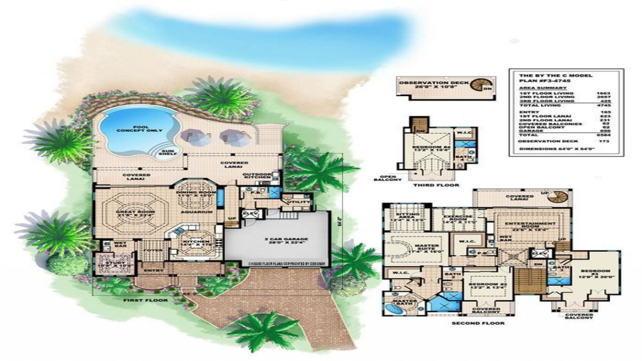 Tropical House Plans Small Cottage Tropical Island House