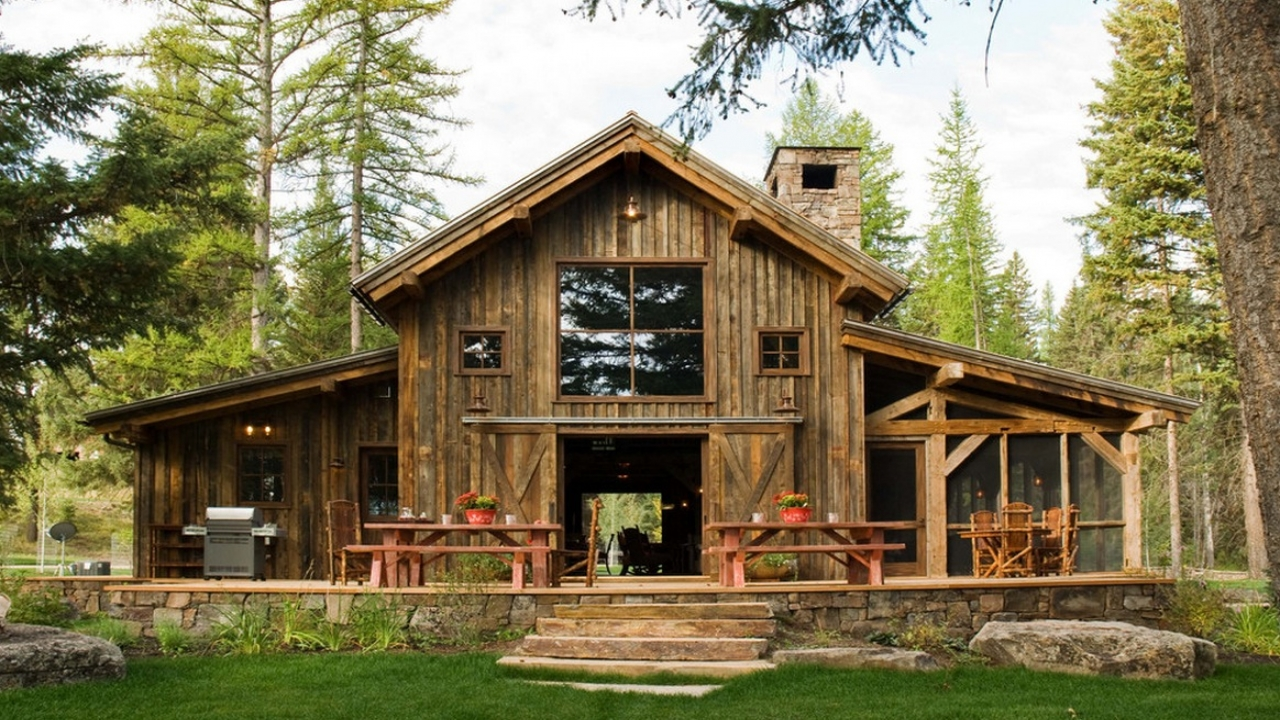 barn cabin plans and designs rustic barn home plans house plans that look like old houses. Black Bedroom Furniture Sets. Home Design Ideas