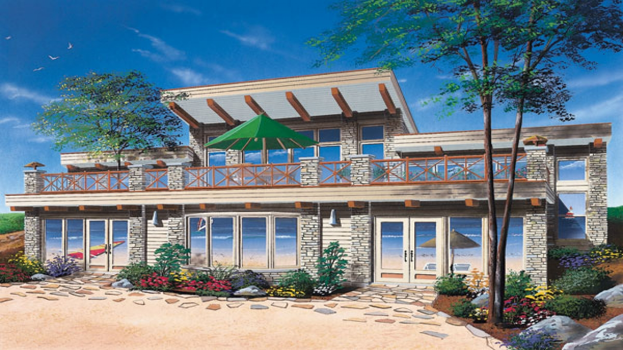 Beach House Plans On Pilings Beach House Plans Southern