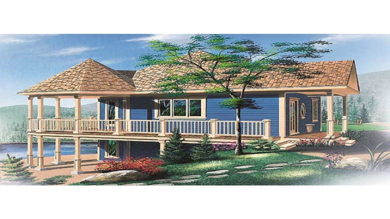 Beach House Plans On Pilings Small Beach House Plans ...