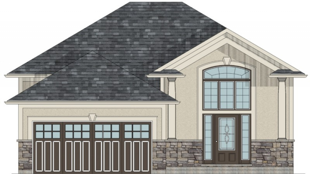 Bungalow House Plans With Garage Modern Bungalow House