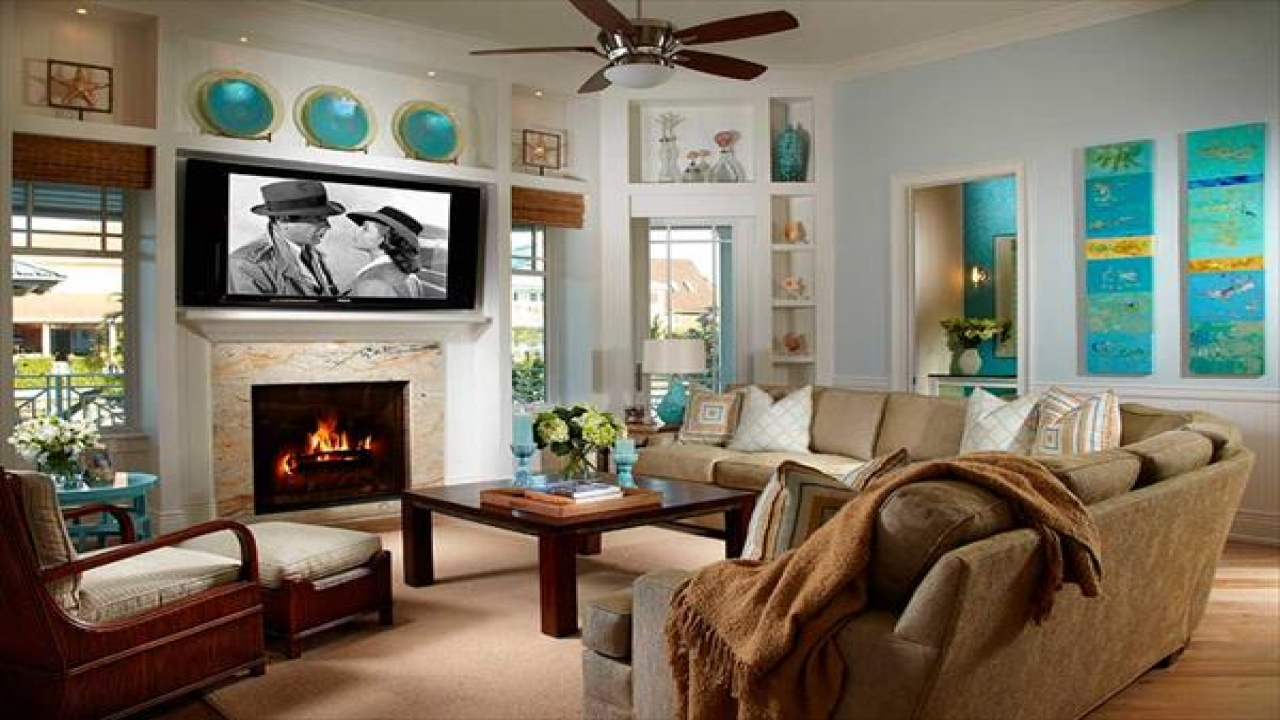 coastal living room decorating ideas best living room makeovers coastal house design. Black Bedroom Furniture Sets. Home Design Ideas