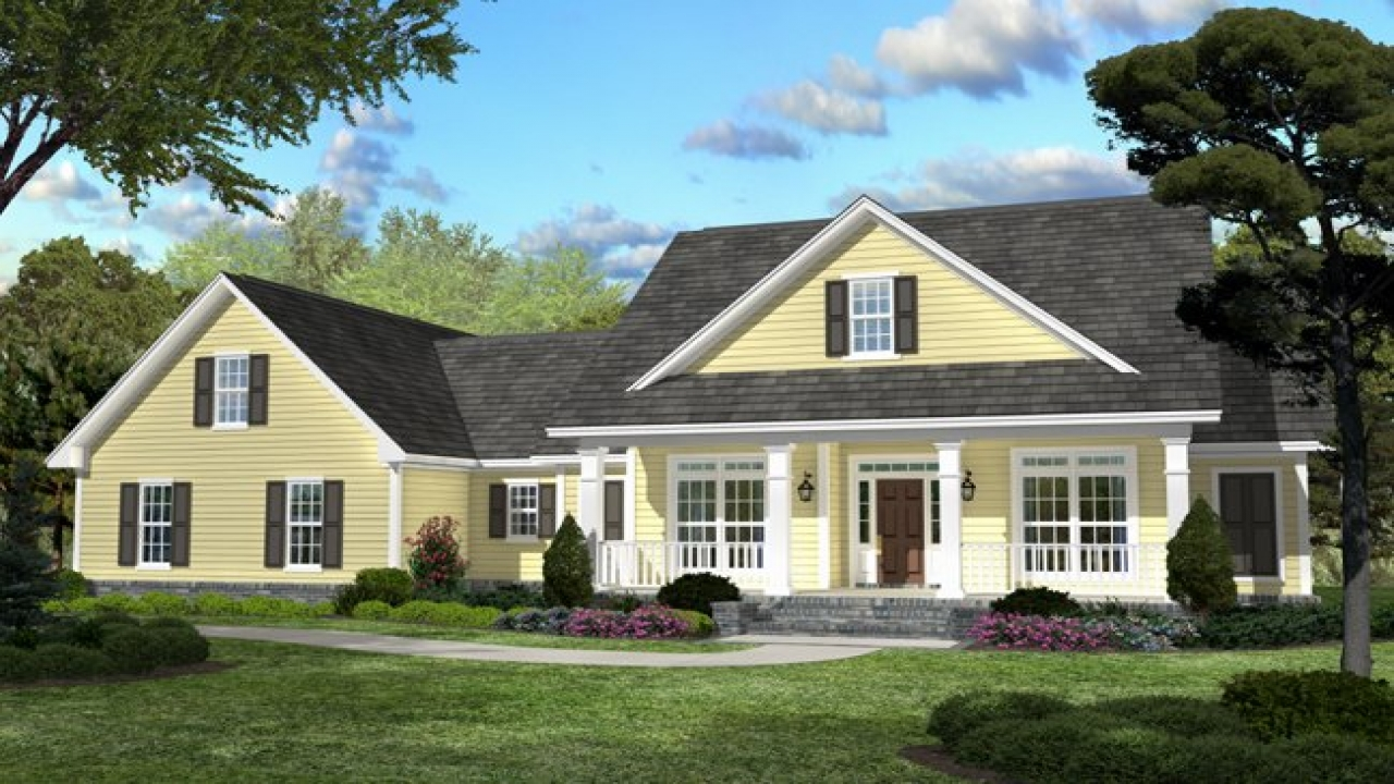 Tiny Home Designs: Country Style House Plans With Photos Small Country House