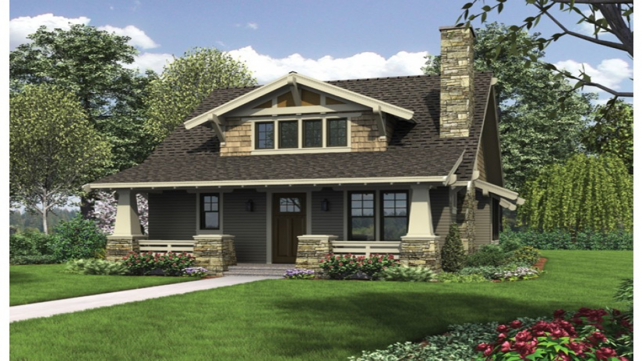 Craftsman bungalow house plans bungalow house plans with for Craftsman bungalow designs