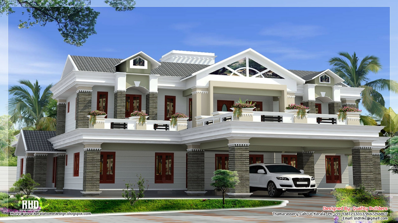 Home luxury house design small modern house exterior for Luxury homes exterior design