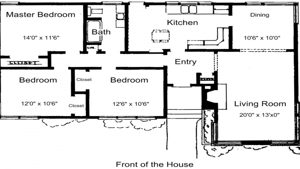 Luxury 3 Bedroom House Plans 3 Bedroom House Plans Free 3 Bedroom Cottage House Plans