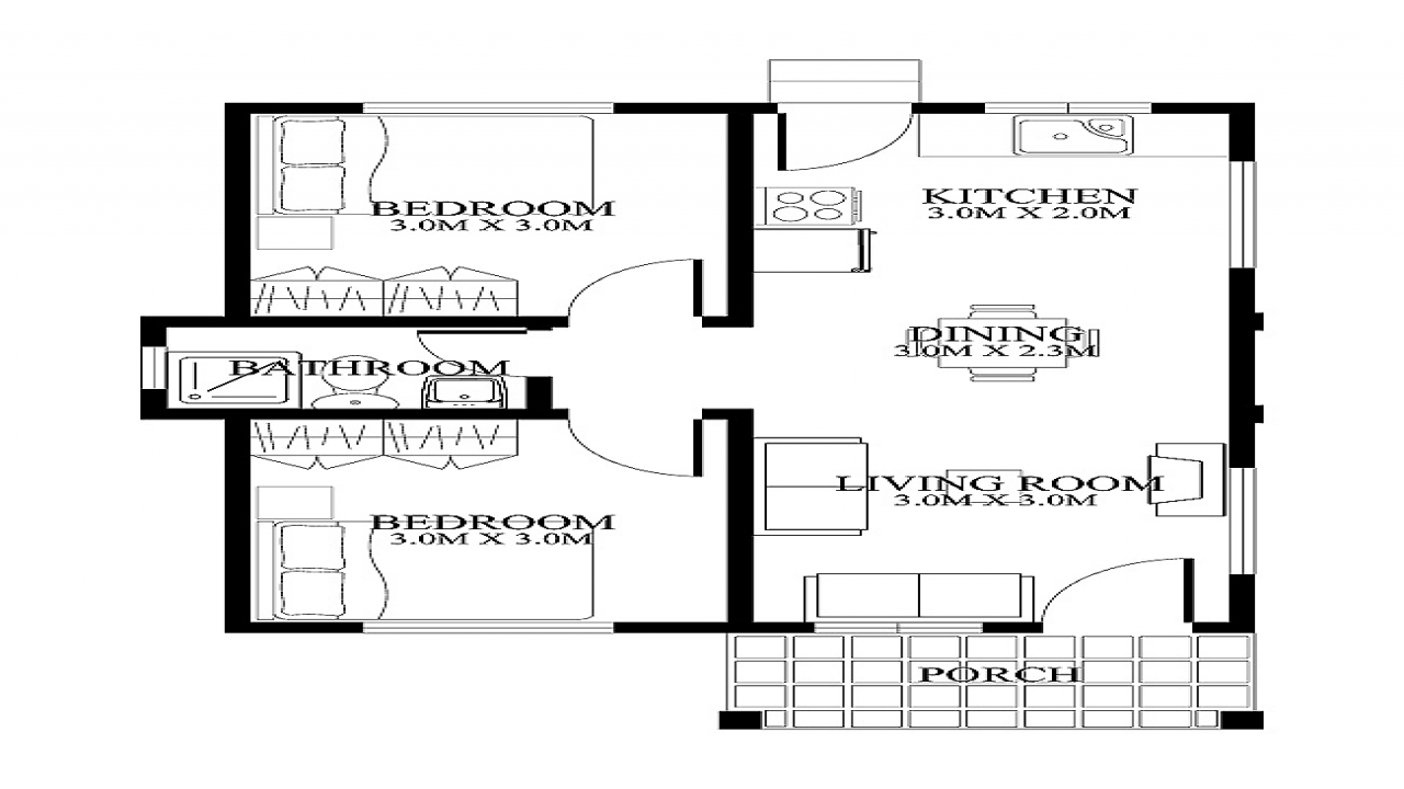 Small house floor plans and designs very small house plans for Very small house floor plans