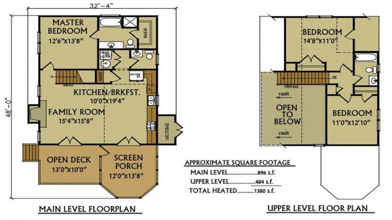 Small lake cabin floor plans small cabins off the grid for Off the grid floor plans