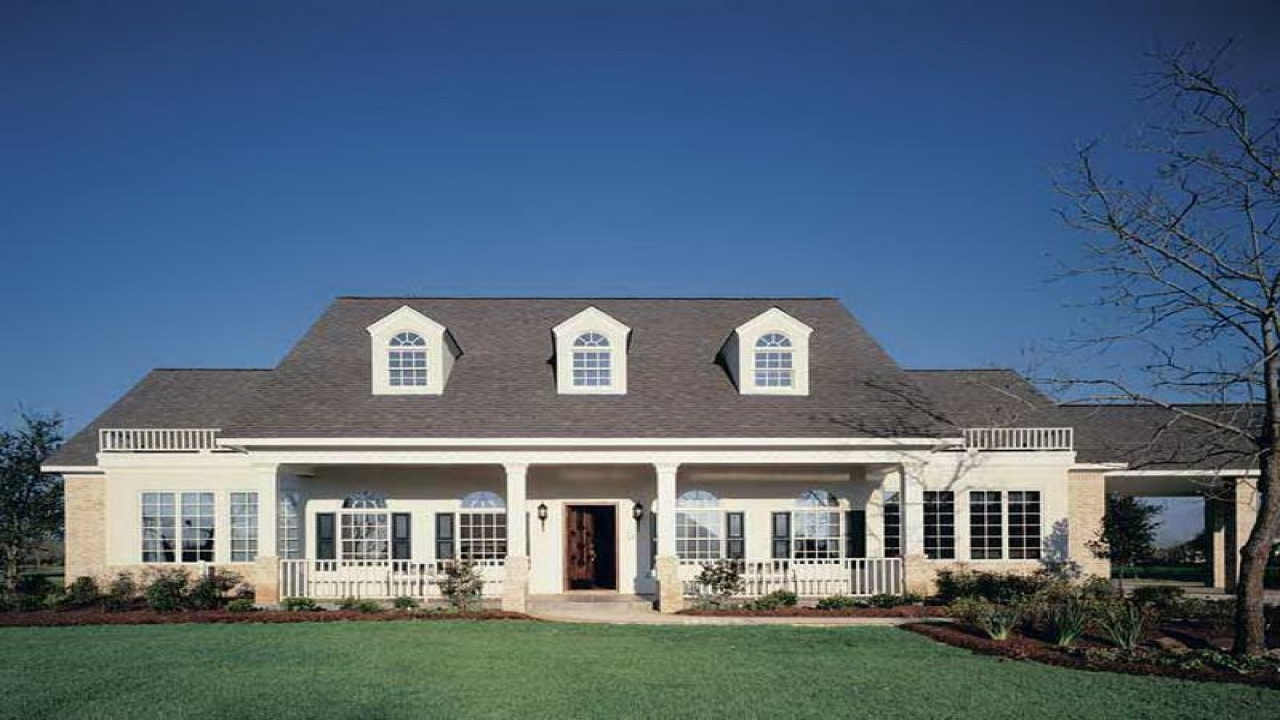 southern home plans with dormers southern style home plans