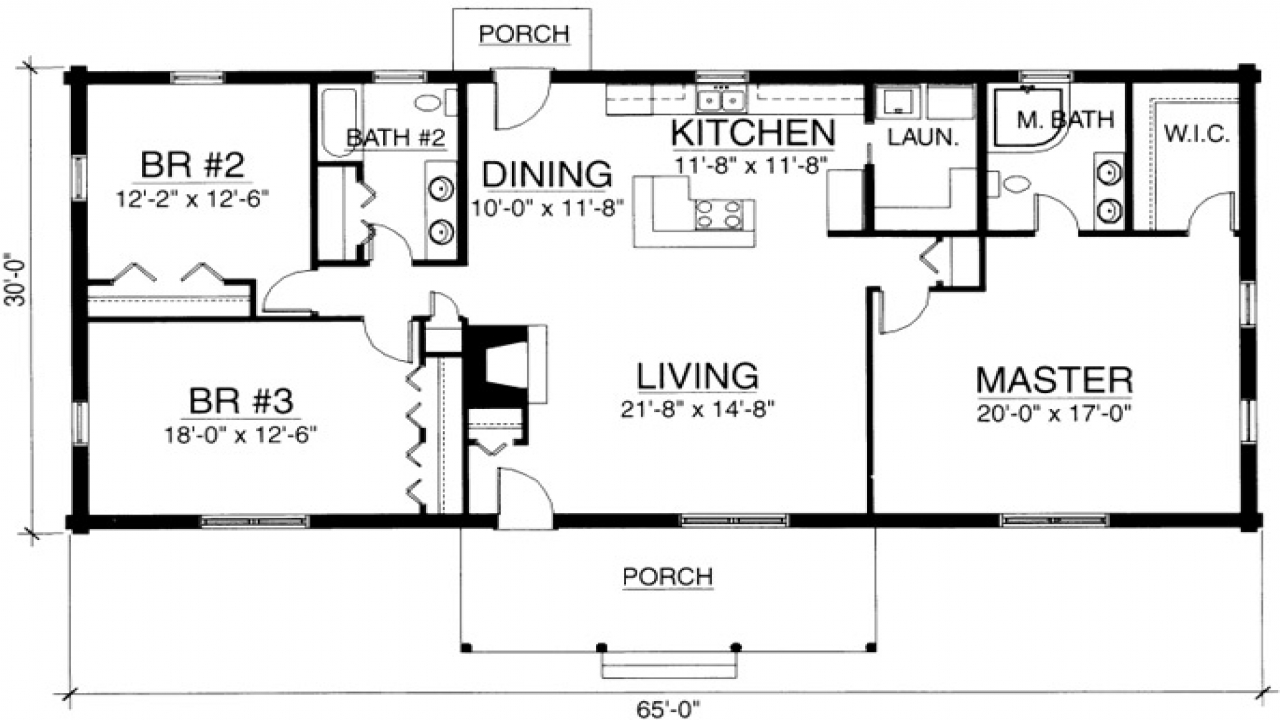 Do It Yourself Home Design: 1 Bedroom Cabin Plans One Bedroom Log Cabin Floor Plans