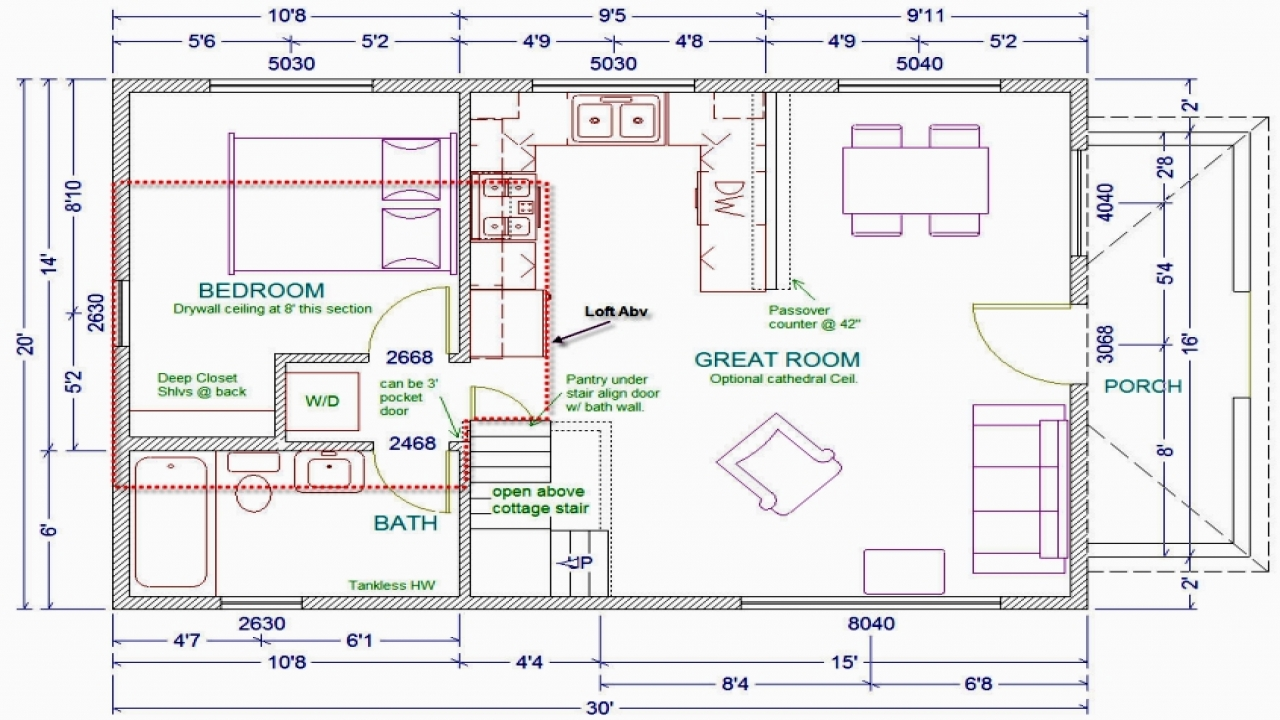 20 x 30 cabin floor plans with loft 16 x 20 cabin plans for 16 x 30 cabin floor plans